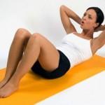 упражнения что бы убрать послеродовой живот